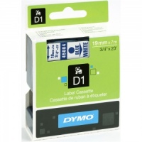 Dymo 45804 Blue On White - 19mm