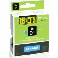 Dymo 45808 Black On Yellow - 19mm