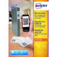 Avery QR Code Labels 35x35mm L7120-25 (875 Labels)