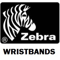 Zebra 100127124 Wristbands (Box of 4)