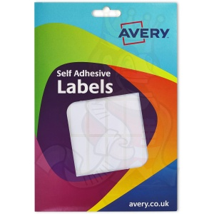 Avery White Labels 18x38mm 16-022 (840 Labels)
