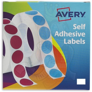 Avery Labels in Dispensers 12x18mm White 24-415 (2000 Labels)