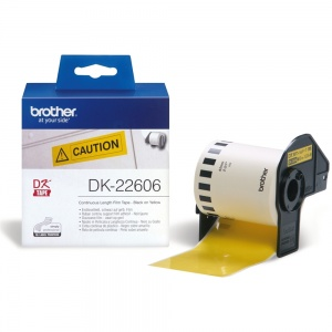 Brother DK22606 Yellow (Film) Tape