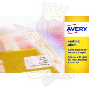 Avery Franking Labels Manual Feed 140x38mm FL01 (1000 Labels)