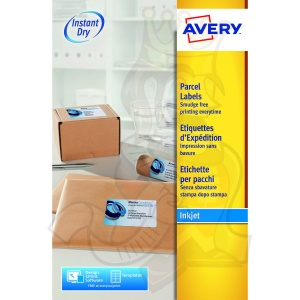 Avery Inkjet Address Labels 99x139mm J8169-25 (100 Labels)