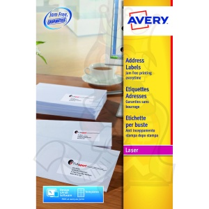 Avery QuickPEEL Laser Address Labels 99x38mm L7163-40 (560 Labels)