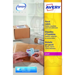 Avery Blockout Shipping Labels 99x67.7mm L7165-40 (320 Labels)