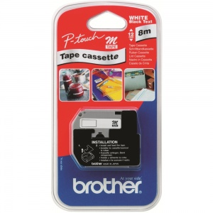 Brother MK221BZ Black On White - 9mm
