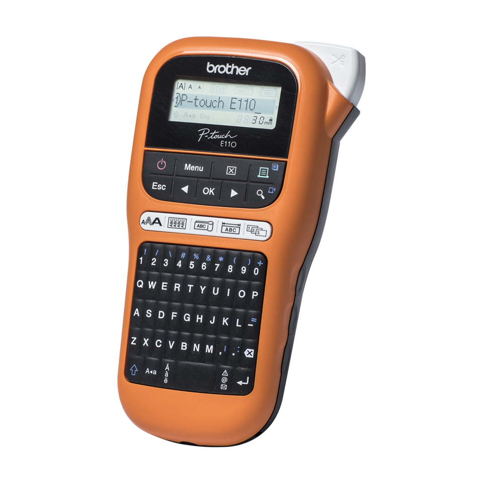 Brother PT-E110VP Handheld Professional Label Maker