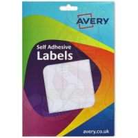 Avery White Labels 25x50mm 16-026 (330 Labels)