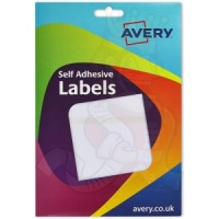 Avery White Labels 78x116mm 16-040 (80 Labels)