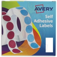 Avery Labels in Dispensers 25x50mm White 24-426 (400 Labels)