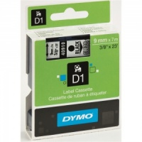 Dymo 40910 Black On Clear - 9mm