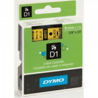 Dymo 40918 Black On Yellow - 9mm
