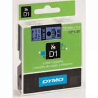 Dymo 45016 Black On Blue - 12mm