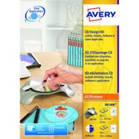 Avery CD Design Kit with Applicator AB1800 (10 Labels)
