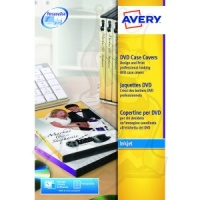 Avery DVD Case Inserts 273x183mm J8437-25 (25 Labels)