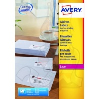 Avery QuickPEEL Laser Address Labels 99x38mm L7163-500 (7000 Labels)