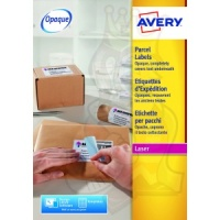 Avery Blockout Shipping Labels 99x93mm L7166-100 (600 Labels)