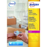 Avery Blockout Shipping Labels 200x289mm L7167-250 (250 Labels)