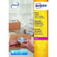 Avery Blockout Shipping Labels 200x289mm L7167-500 (500 Labels)