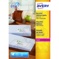 Avery QuickPEEL Recycled Laser Address Labels 99x34mm LR7162-100 (1600 Labels)