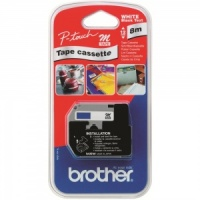 Brother MK521BZ Black On Blue - 9mm