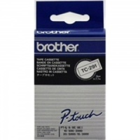 Brother TC291 Black On White - 9mm
