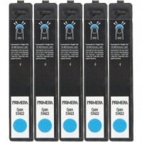 Primera 53422 Cyan LX900e DYE Ink (Pack of 5 Cartridges)