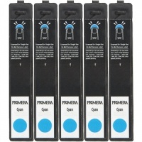 Primera 53437 Cyan LX900e PIGMENT Ink (Pack of 5 Cartridges)