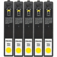 Primera 53424 Yellow LX900e DYE Ink (Pack of 5 Cartridges)