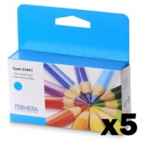 Primera 53461 Cyan LX2000e Ink (Pack of 5 Cartridges)