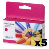 Primera 53462 Magenta LX1000e/LX2000e Ink (Pack of 5 Cartridges)