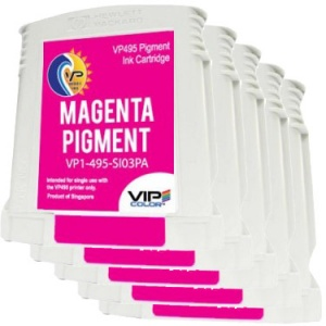 VP495 Magenta Pigment Ink Tank (Pack of 5)