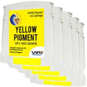 VP495 Yellow Pigment Ink Tank (Pack of 5)